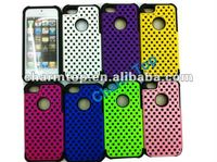 Hybrid Plastic Silicone Case For iPhone 5