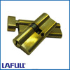 80mm Euro Brass Polished security door lock cylinder, knob cylinder