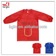 water-proof children painting apron long sleeve art smock for painting