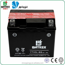 Batrex Battery Production Line Dry Charged 12v 5ah Battery