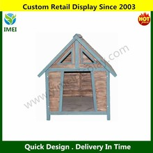 DOG KENNEL WOODEN PET HOUSE APEX ROOF OUTDOOR SHELTER WOOD HOME YM5-585