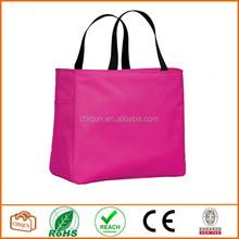 2015 Chiqun Dongguan polyester 600D tote bag Tropical Pink