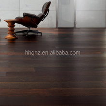 prefinished wenge engineered wood flooring dark color