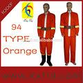 94 estándar retardante de llama de fuego telas ropa de rescate