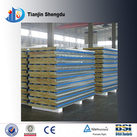 Distribution panel Rock wool aluminum Sandwich panel cutting machine