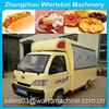 orange juice cart/street food kiosk cart for sale/fridge cart/push carts for churros/ice cream cart manufactures