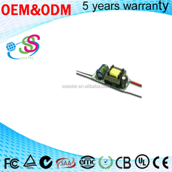 led bulb driver 5W 6W 7W Constant Current Driver LED Light