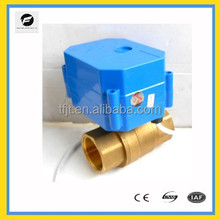 CWX60p DC12V motorized valves ,matel gear ,long life mini electric valve for water filter system