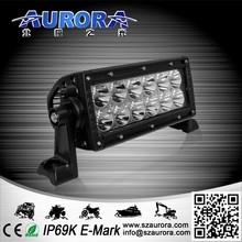 Dustproof AURORA 6 inch double row 60w off road light covers