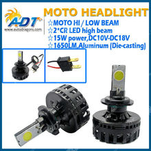 Super Brightness Headlamp 15W H7 Moto LED Headlight