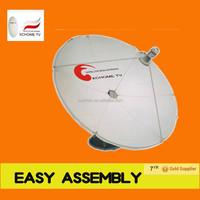 TV satellite receive antenna parabolic dish antenna 1.8m