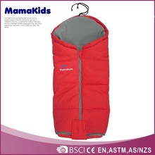 Can be used on stroller,swing bed and car seat sleeping bag with warm material 2014 baby sleeping bag manufacturer