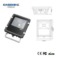 Cheap price outdoor stainless steel flood lighting lamp with CE/FCC/RoHS