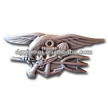 Custom metal wing badge with your own ideal
