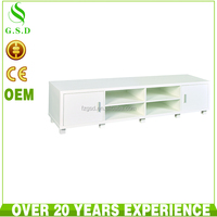 wholesale high quality living room lcd tv wood cabinet design with showcase
