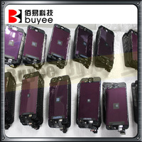 100% test new original pass lcd for iphone 5 ,for iphone 5 lcd test,recycling the original broken lcd for iphone 5