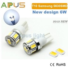 New design high brightness 5630SMD 12V W5W 194 T10 led