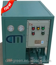 water cooling and vapour cooling refrigerant recovery anti-explosive machine