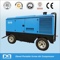22m3/min 14bar Portable Diesel Power Rotary Screw Air Compressor