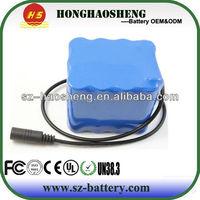 High quality Portable 12V 8000mah Li-po Super Rechargeable Battery Pack
