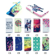 For iPhone 6 Stand Wallet Flip Leather Soft Cover Case