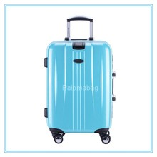 High quality travel ABS and PC Trolley Suitcase luggage case