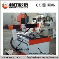 Advertising cnc router desktop machine/ Mini 3D CNC Router/acrylic photo frame cnc cutting machine