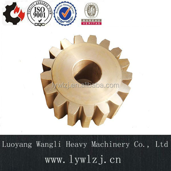 30CrNiMo8 Steel Spur Gearbox Pinion Gears with ISO Accuracy Grade 6