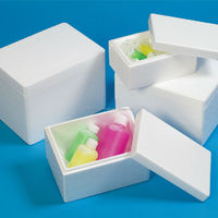 Environmentally friendly lightweight styrofoam food packaging box made in Japan