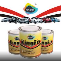 KINGFX Brand 1k pearlescent acrylic resin based car paint