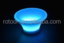 Color changing factroy sell new design LED table LED RGB fruit tray
