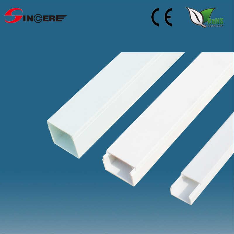 Canaleta de pvc para uso en interiores para el alambre - Precio canaleta pvc ...