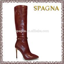 gladiador de alta del muslo botas de mujer de tacón alto de la rodilla botas de caña alta