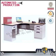 l-shape office table/ office desk organizer/ desk office