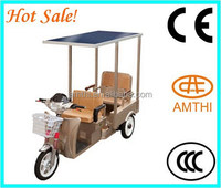 solar power tricycle ,2015 high quality electric tricycle manufacturer in China for passenger , AMTHI