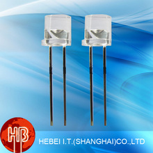 5mm Pure White Flat Top Led Diode