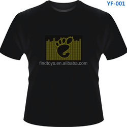 Baby Foot Funny LED T-shirt for Party Supplies