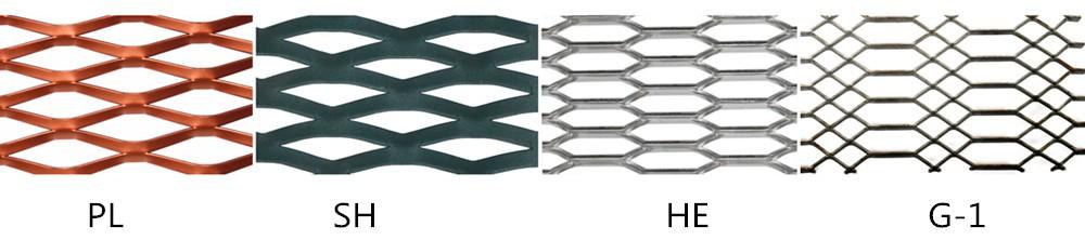 Пвдф порошковые алюминиевые просечно-вытяжной лист для украшения стены