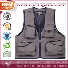 New Design High Quality Customized Tactical Fli Photographer Outerwear Nylon Men's Vest