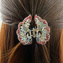 korean hair claw clip hair accessories rhinestone hair claw clip