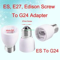 eb3399 e27-g24 женские легкие преобразователя розетка Эдисон винт лампы адаптер держатель базы