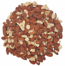 Whole and broken Almond