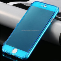 UltraThin Slim Crystal Clear Flip Case for Apple iphone 6 4.7/ Plus 5.5, Soft TPU Cover Accessories Transparent Case for iphone6