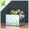 Top selling chinese manufacture aliababa supplier copper antique decorative thick glass vase
