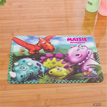 2015 HOT selling PP Plastic tempered glass placemat PP placemat