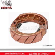 Non-Asbestos Motorcycle Brake Shoe for Iran Market