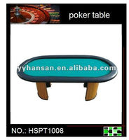 poker tables with chip tray and round leg