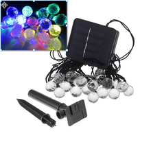 BG brand Christmas Battery/plug/solar operate led light ball for wedding party holiday decoration
