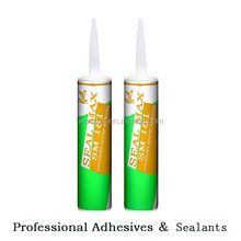 clear color acetic silicone sealant