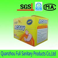 cotton wisper thong printing sanitary pads